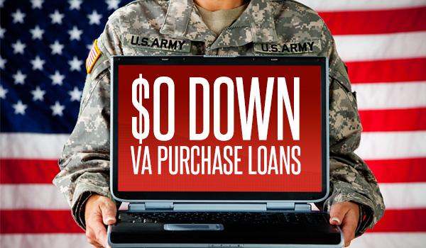 Zero Down VA Purchase Loans